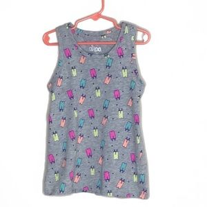 Circo• Girls Ice Pop Grey Graphic Size Small (6)